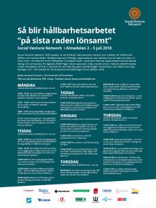 SVN i Almedalen 2018